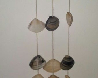 Seashell and Driftwood Wind Chime/Wall Hanging