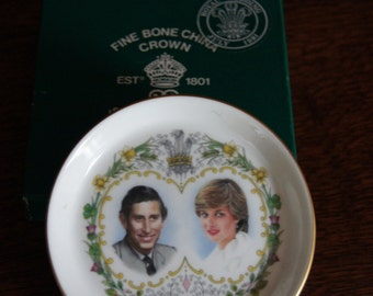 Charles and Diana Commemorative Coaster