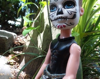 Teen Boy Day of the Dead Doll