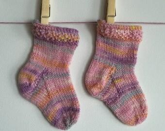 Babycakes High Top Sock Pattern