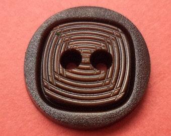 11 buttons 15mm dark brown (6123) button