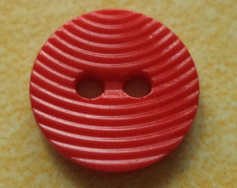 11 small red buttons 12mm (5346) button