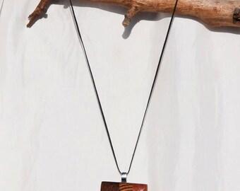 Natural, wooden Pendant