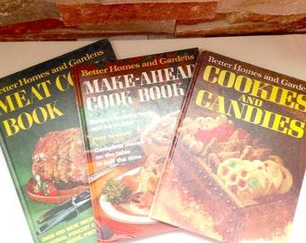 Vintage Cookbooks, Set of 3 Better Home and Gardens Cookbooks Cook Books