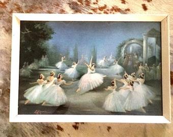Vintage Ballet Print - Carlotta Edwards 2