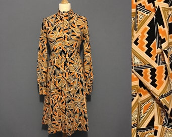 1960s Vintage geometric dress