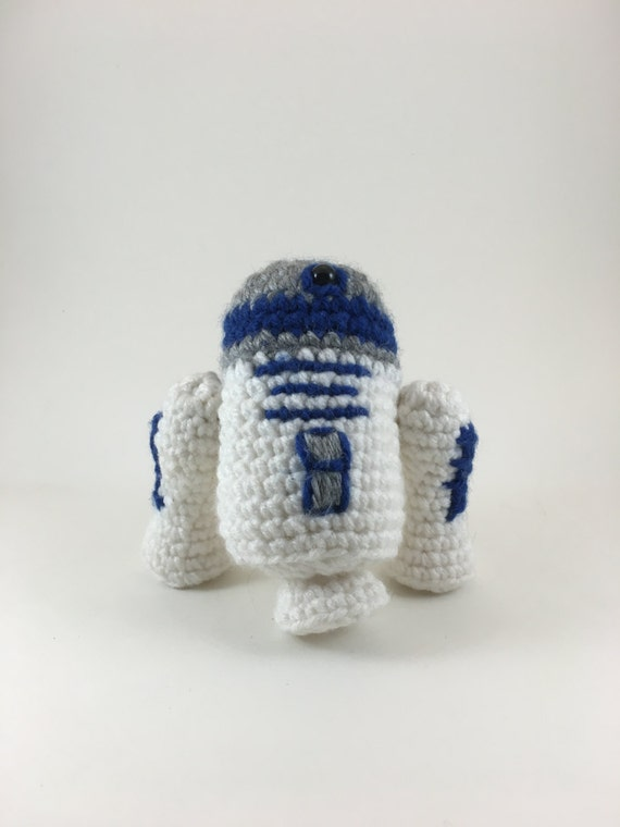 Free Crochet Patterns Amigurumi Star Wars : Crochet Amigurumi R2D2
