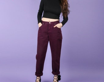 90s Vintage Purple Calvin Klein Jeans