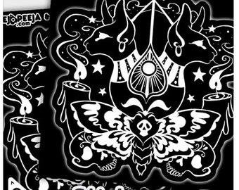 Occult Decals Etsy