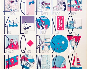 Alphabet poster by Max.