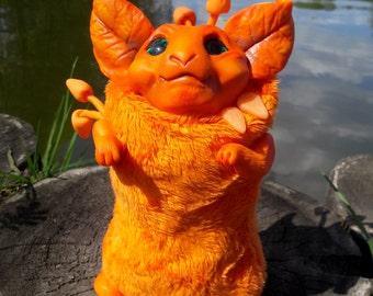 Bhokta - a fluffy spirit of cheerfulness and joy