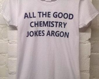 geeky shirt womens clothing graphic tee chemistry t shirt chemistry shirt chemistry top tee funny t shirt pun shirt science shirt nerdy top