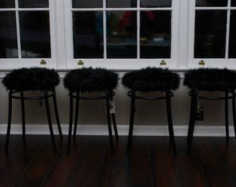Mini Fur Stools