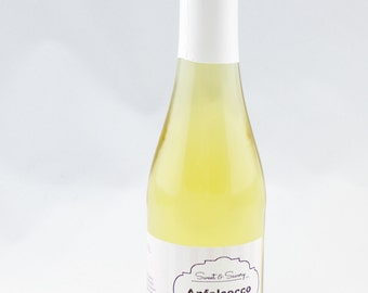 Apple Secco Apfelsecco Piccolo from the Apple variety Jonagold variety pure, 0, 2 l bottle, pink, ideal as a gift