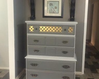 Sold do not purchase Beautiful Ayers Chest of Drawers from the early 1970's Very Solid and Sturdy