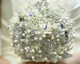 Ready to Ship Brooch Bouquet