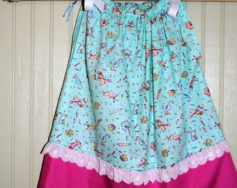 Girls Pillowcase Dress, Girls Dresses, Girls Summer Dress, LittleThreadz by SanLee Living
