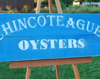 Chincoteague Oysters | Virginia Art | Chesapeake Bay