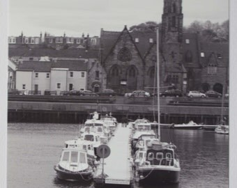 Moorings - Black and White Photography, Portrait