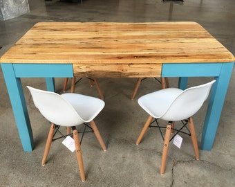 Kids Activity Table w/ Eames Inspired Midcentury Modern Chairs