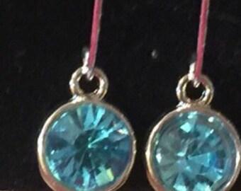 Sterling Silver Hook dangle earrings