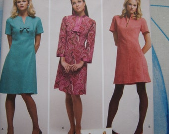 Simplicity 3559 1960's Reproduction Dress Sewing Pattern 14-22