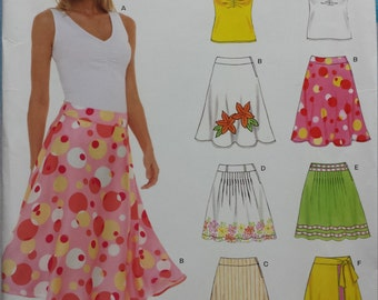 New Look 6569 Skirt and Tank Top Sewing Pattern 8-18