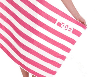 Gamma Phi Beta Towel Stripes