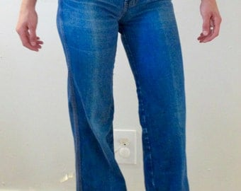 Vintage 70s High Waisted Jeans
