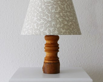 "Unique table lamp bedside lamp light ""Woody"""