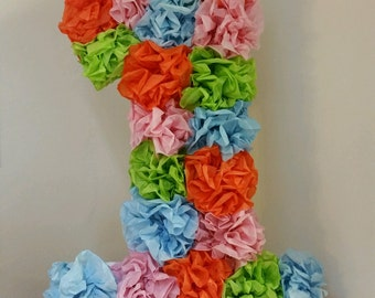 Decorative Number One for child's Birthday party