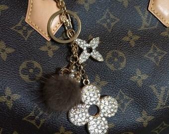 Louis Vuitton Inspired Bag Charm