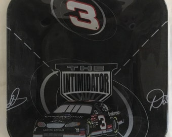 "Nascar Dale Earnhardt 10.5"" glass plate"