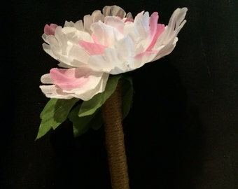 Pink and White Flower pen