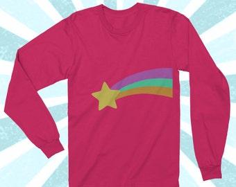 Mabel Pines Shirt - Gravity Falls Cosplay - Long Sleeve shirt - Mystery Shack - Dipper Pines - Mabel Sweater - Cotton tshirt