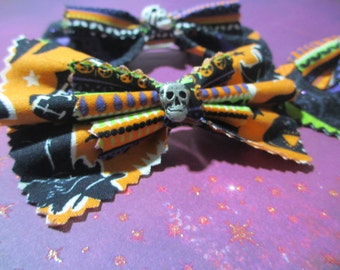 Halloween Witchy Hairbow Set