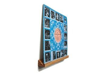 Vinyl Record shelf , Vinyl Record storage , Vinyl holder , Vinyl Record stand , LP record display, Picture ledge, Photo shelf