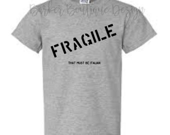 Fragile Shirt - A Christmas Story