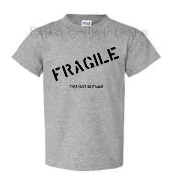 fragile shirt a christmas story. Black Bedroom Furniture Sets. Home Design Ideas