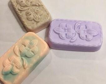 Fleur De Lis Bar Soap