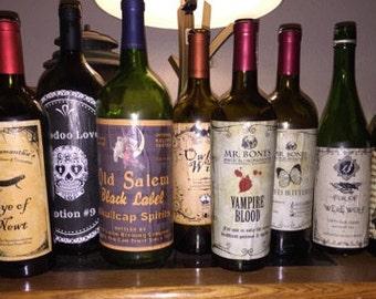Custom Labeled Wine Bottles