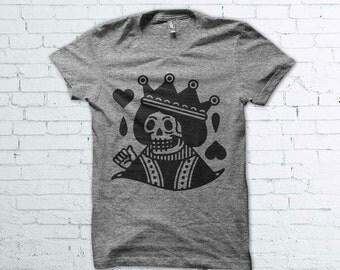Traditional Tattoo Queen Skull Shirt