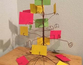 Business card tree.