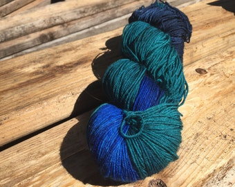 Star gazing - sock yarn - 75/25 superwash merino and nylon