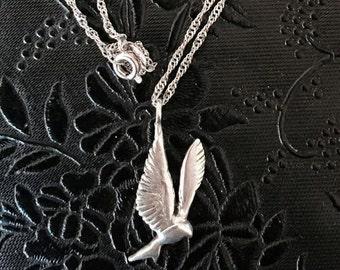 Dove, Sterling silver 925 Handmade