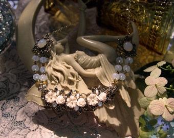 Moonstone Vintage Necklace