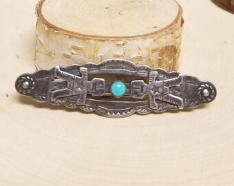 Old Pawn Native American Brooch