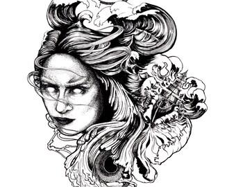 Tempest Giclee Print 11x14
