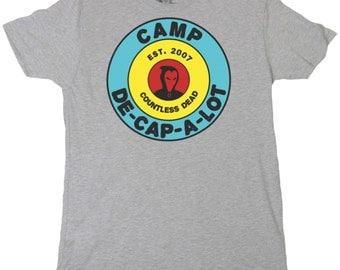 Slasher! Camp De-Cap-A-Lot T-Shirt