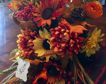 Sunflower Fall Cornicopia